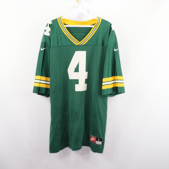 Nike Other - 90s Nike Mens Large Green Bay Packers Favre Jersey